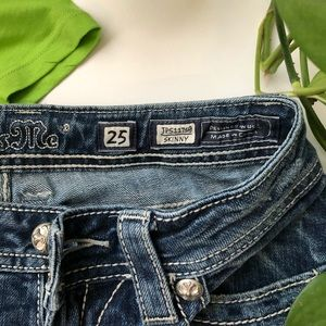 Miss Me Jeans - Miss Me skinny jeans; size 25